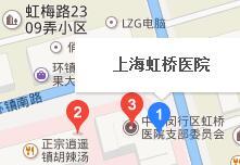 上海虹桥医院路线图